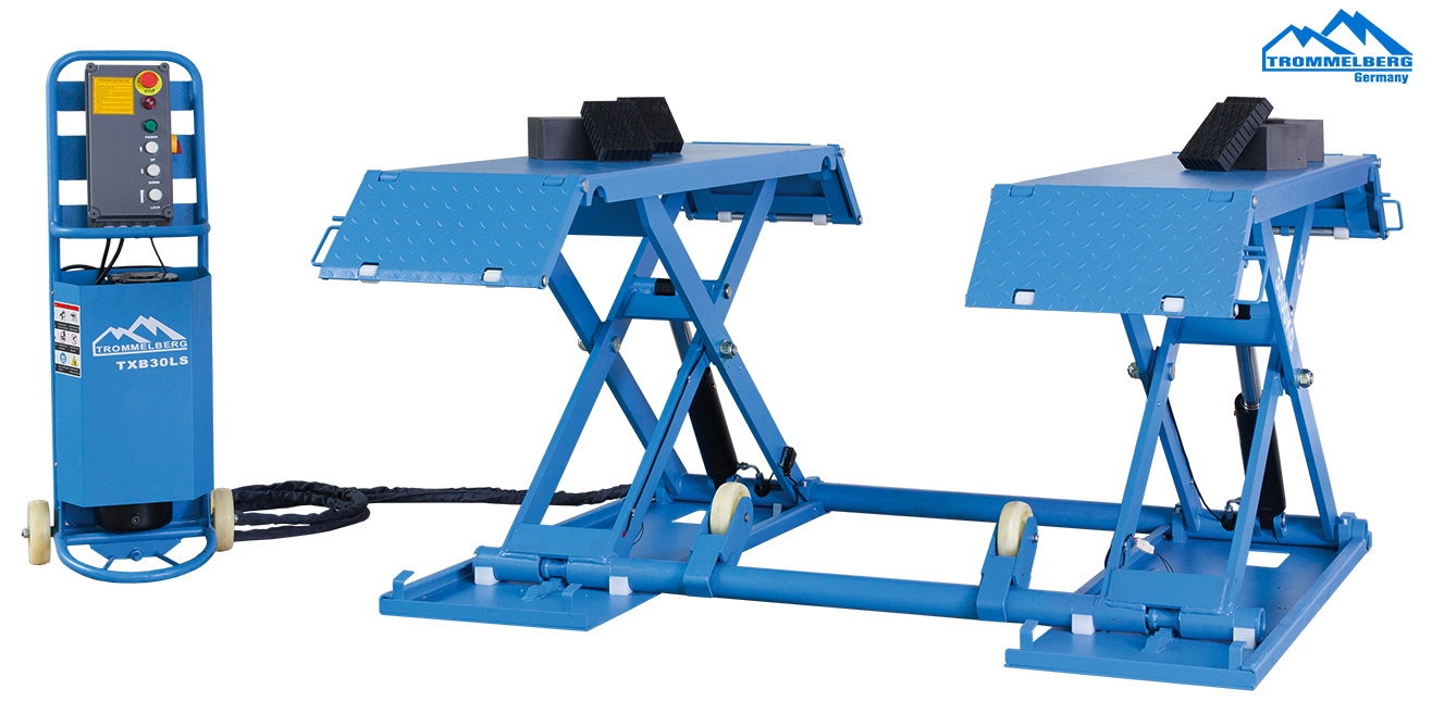 3 Ton Scissor Lift with mobile kit