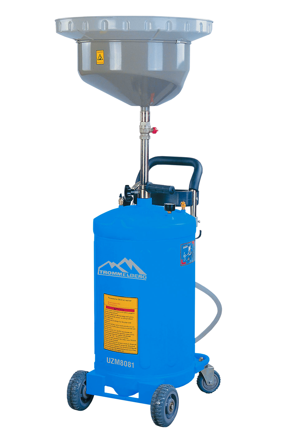 Mobile Waste Oil Drainer w/o inspection chamber